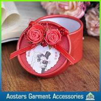 China Custom Small Round Cardboard Embossed Gift Boxes wholesale