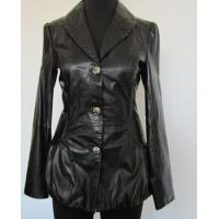 China fashion leather coat for ladies wholesale