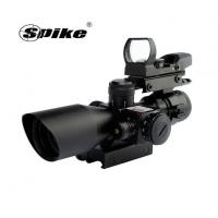 China Optics 2.5-10X40 Hunting Riflescopes With Red Laser Pointer Sight+HD101 Red Dot Reflex Sight Scope wholesale