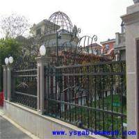China Europe fence-016 100x55mm post metal fence wholesale