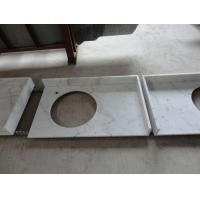 China White Marble Company for Chinese Guangxi White ,Bianco Crown Bathroom Vanity Tops wholesale