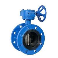 China Gear operated large diameter butterfly valve flanged wholesale