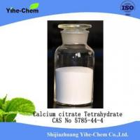 China Unique wholesale price calcium citrate tetrahydrate wholesale