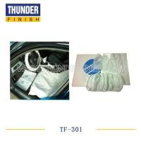 China TF-301 Disposable plastic car care 5 in 1 cleaning kit wholesale