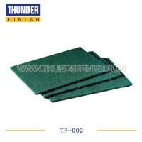 Buy cheap TF-002 Green Abrasive Scouring Pad from wholesalers