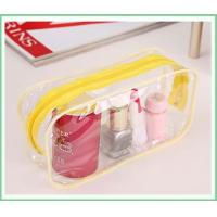 China large clear plastic bags cosmetic case on sale