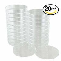 China Sterile Plastic Petri Dishes with Lids, 10 Pieces each of 100 mm and 60 mm, 20 Pieces Total wholesale