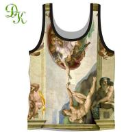 China Polyester tank top on sale
