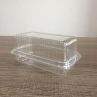 China Clear Hinged Lid Plastic Container Clear Plastic Hinged Packaging Boxes Deli Containers with Lids on sale