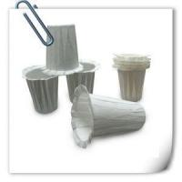 China Keurig Coffee Filter Paper Cup Disposable White Bulk K-cup Food Grade Cup Shape wholesale