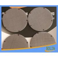 China Wire Mesh Filter Disc and Packs wholesale