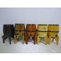 Buy cheap Mini beer wood keg with stainless steel barrel inlay very high quality from wholesalers