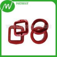 China Plastic Gear High Quality Red Square Bushing Plastic wholesale