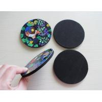 China Novelty Coasters Unique Designer EVA Cup Non Skid Mat Factory wholesale