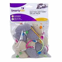 China SmartyKat Skitter Critters Catnip Cat Toys Value Pack, 10 Count wholesale