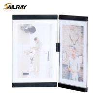 China 7 Inch Leggy Horse Black Acrylic Collage Photo Frame for Home Decoration Two Piece Sets wholesale