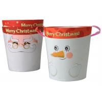 China Decorative Christmas Cardboard Gift Boxes Crack Resistant And Light Weight wholesale