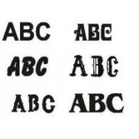 China Abrasives Custom Steel Cutout Letters and Numbers - Specify Your wholesale