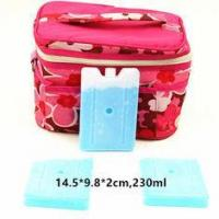 China FDA Approved 230ml Cool Bag Ice Packs For Lunch Bag Cool Box Blocks wholesale