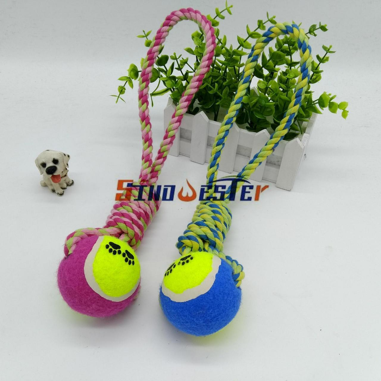 Buy cheap tennis balls cotton pet toy ball from wholesalers