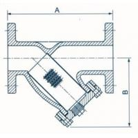 China YS-F-1161 Flanged End Y-Strainer 175PSI wholesale