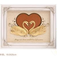China 2016 Top Hot 3D gold foil mandarin duck frame the best luxurious home deoration wholesale