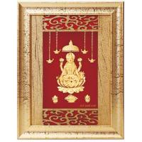 Buy cheap 3D gold foil ganesha photo frame from wholesalers