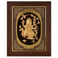 Buy cheap 3D gold foil laxmi frame hot selling in dewali from wholesalers