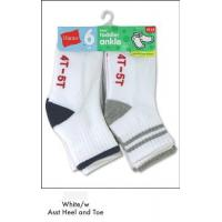 China Hanes Toddler Boys Non-Skid Ankle Socks # 27/6 on sale