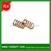 China Auto customized coiled copper wire spiral spring on sale