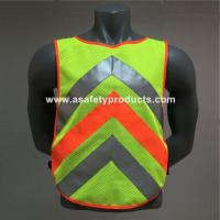 Quality Safety Vest High Visibility EN20471 Running Vest for sale