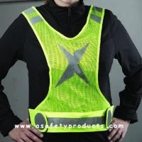 Buy cheap Safety Vest Reflective Jogger Running Vest from wholesalers