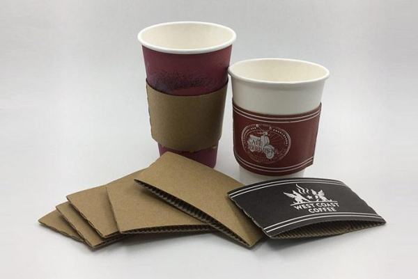 Quality Disposable Printed Paper Coffee Cup Sleeve for sale