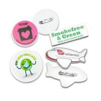 China Environmental Recycled Badge 55Mm With Safety Pin 22894 wholesale