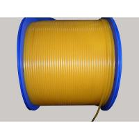 Buy cheap Yellow Round Belt,OEM service PU round Cord with yellow Pearl color from wholesalers