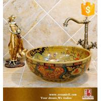 Buy cheap Art basin Luxury excellent designs Jingdezhen ceramic basin from wholesalers