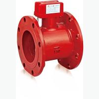 Flanged flow indicator