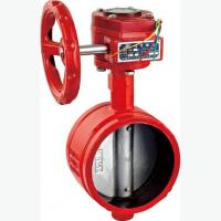 China Groove signal butterfly valve wholesale