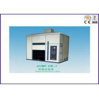 Electric Wire Flame Test Chamber , Flame Test Apparatus For