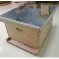 China Langstroth Hive Pine Wood Beehive One Level Hive wholesale