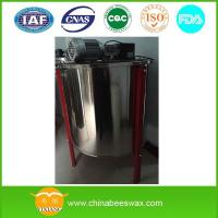 China 6 Frame Honey Extractor with Legs Motorized Electric Radial Honey Extractor with Stand wholesale