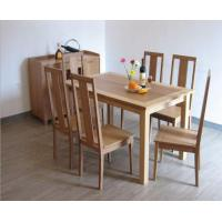 China Dining Room Bamboo Dining Table Chair Set wholesale