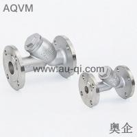 China Stainless steel flanged end Y strainer wholesale