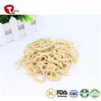 China TTN New Drop Vacuum Fried Dried Lotus Root Food With Lotus Root Nutrition wholesale