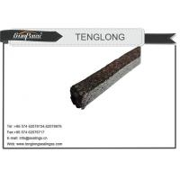 China Pure Flexible Graphite Graphite With Inconel Wire Jacketed Mesh Packing on sale
