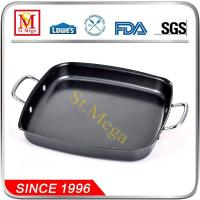 Buy cheap Non-stick Stamped Steel BBQ Square Pan from wholesalers