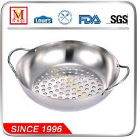 Buy cheap Round Stainless Steel BBQ Grill Wok from wholesalers