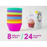 Silicone Cupcake. FDA Approved 100% Food Grade Silicone, BPA Free.