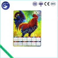China Customized Design 3D Calendar With Magnet Cock Zodiac wholesale