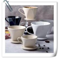 China American Cup Ceramic Filter Equipment Bubble Paper Coffee Filter Drip Cup on sale